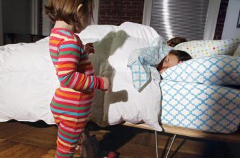 kids sleep own bed