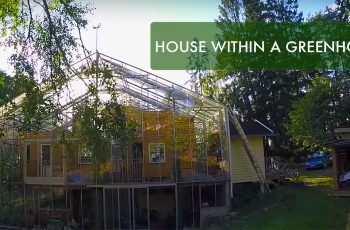 house within greenhouse
