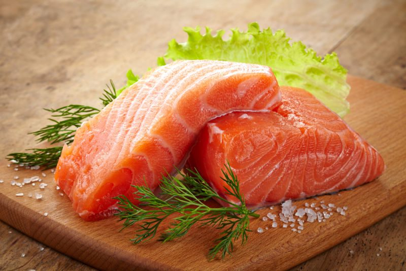 anxiety reducing foods_salmon