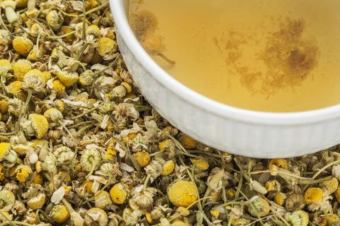 anxiety reducing foods_chamomile