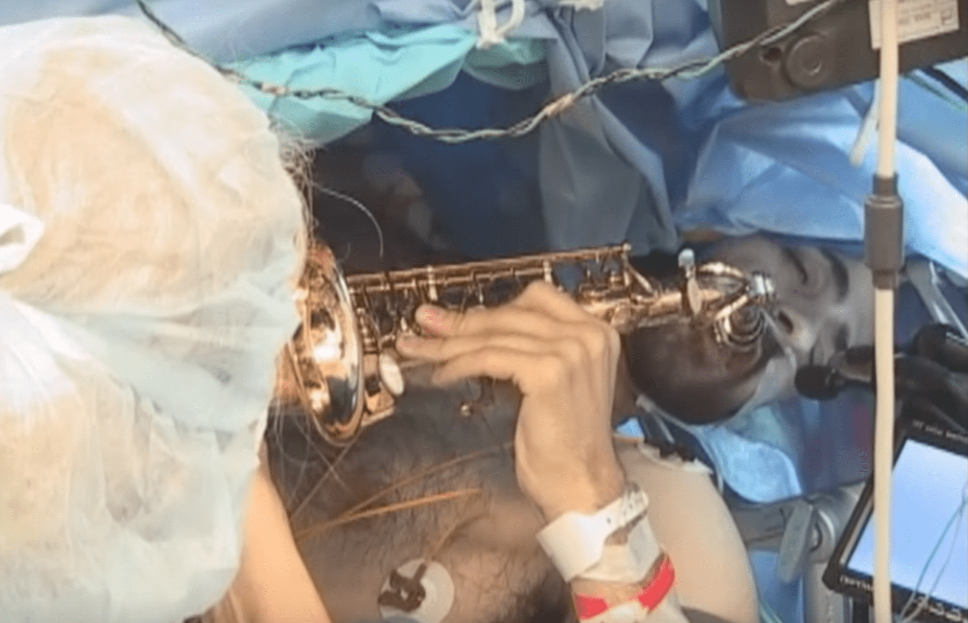 music teacher saxophone surgery