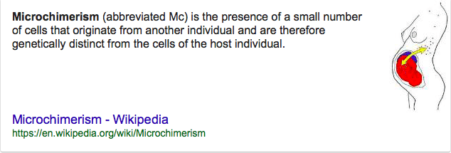 See more: Microchimerism