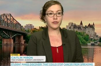 caitlin miron prevent cancer spreading