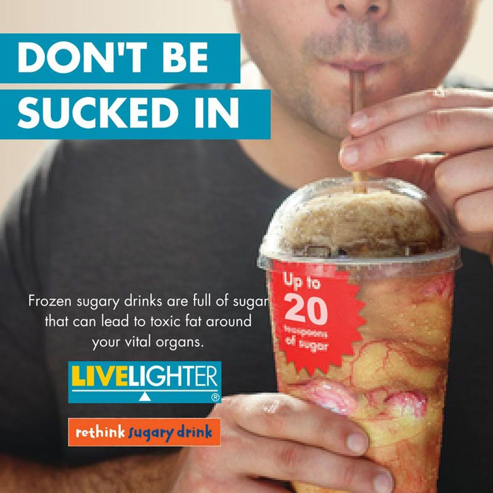 live lighter campaign slurpee ingredients