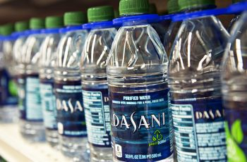 bottled water contaminated plastic