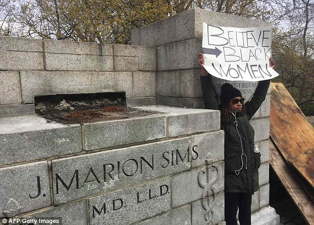 Dr James Marion Sims statue