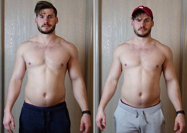 Hunter Hobbs time-lapse transformation