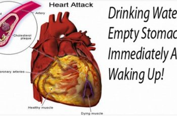 drinking water after waking up benefits