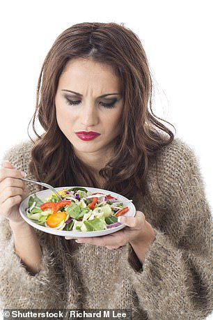 vegetarians are miserable than meat-eaters